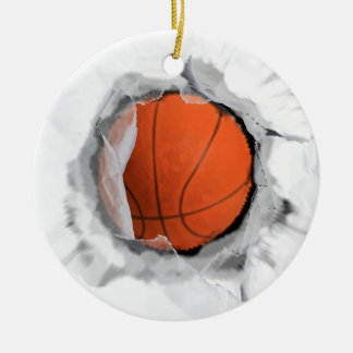 Basketball Collectible Christmas Ornament