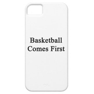 Basketball Comes First iPhone 5 Covers
