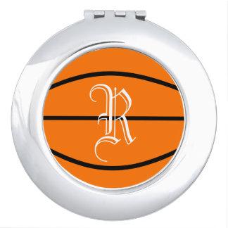 Basketball Compact Mirror