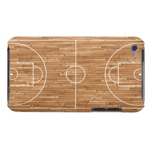 Basketball Court Case Cover Barely There iPod Case