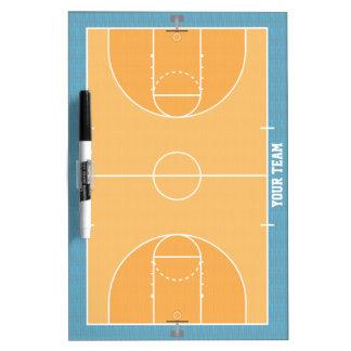 Basketball Court Detailed Medium Dry Erase Board