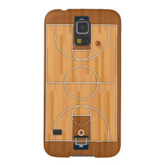 Basketball Court Pitch Hall Ball Galaxy S5 Case