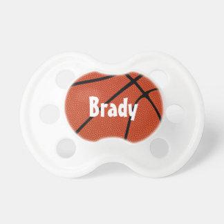 Basketball Custom Baby Name Pacifier