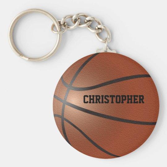 Basketball Custom Keychain