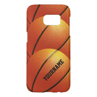 Basketball custom monogram cases