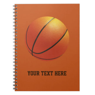 Basketball custom notebook