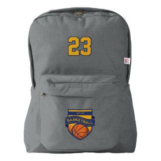 Basketball. Custom Player  Name & Number Backpack