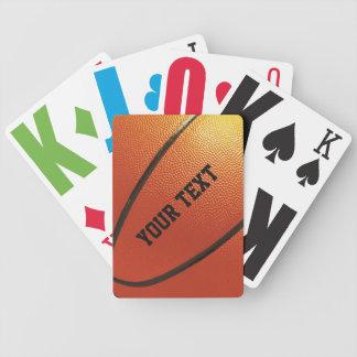 Basketball custom playing cards
