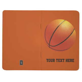 Basketball custom pocket journal