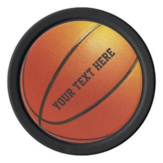 Basketball custom poker chips