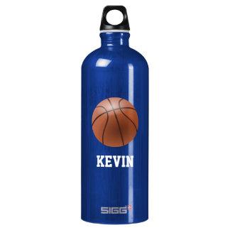 Basketball Custom Water Bottle