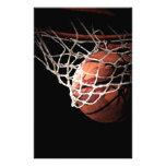 Basketball Customized Stationery