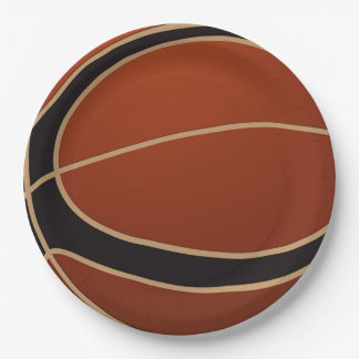 Basketball Dad Father's Day Party Paper Plate