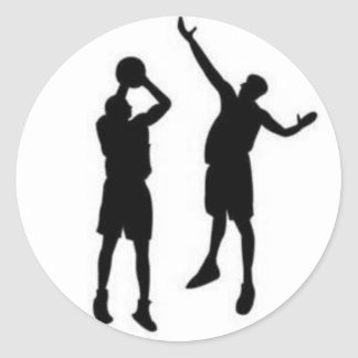 Basketball Defense Sticker