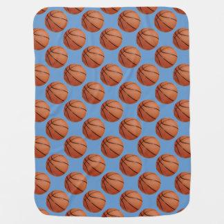 Basketball Design Baby Blanket