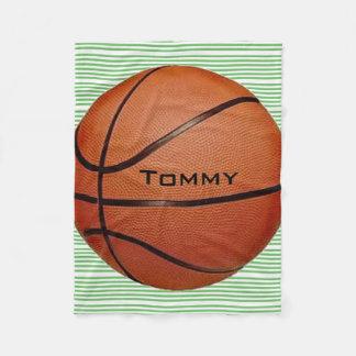 Basketball Design Fleece Blanket