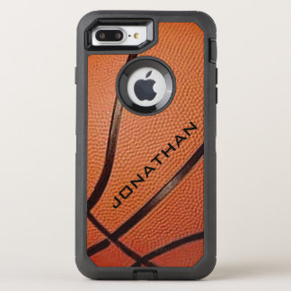 Basketball Design Otter Box OtterBox Defender iPhone 7 Plus Case