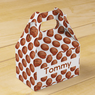 Basketball Design Party Favor Box Party Favour Boxes