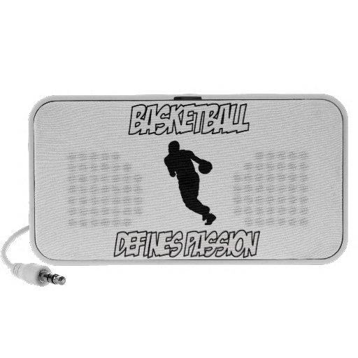 basketball designs speaker