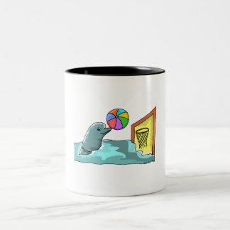 Basketball Dolphin Mugs