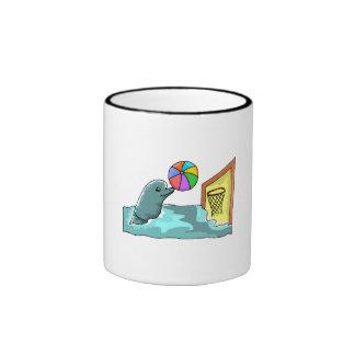 Basketball Dolphin Coffee Mug