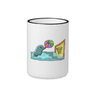 Basketball Dolphin Coffee Mugs