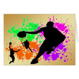 Basketball Dreams Greeting Card