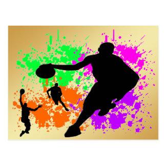 Basketball Dreams Postcard