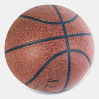 Basketball Dreams Round Sticker