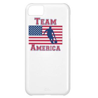 Basketball Dribble American Flag Team America iPhone 5C Covers
