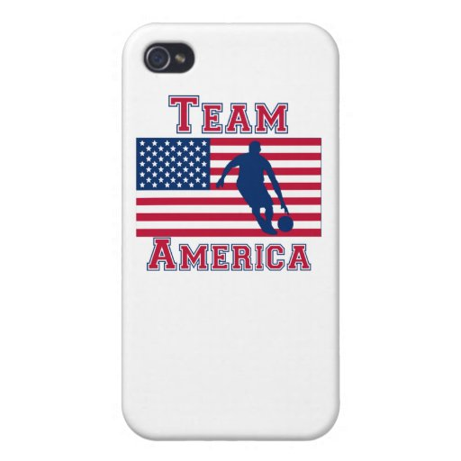 Basketball Dribble American Flag Team America Covers For iPhone 4