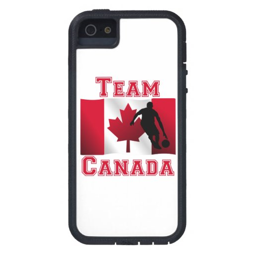 Basketball Dribble Canadian Flag Team Canada iPhone 5 Cover