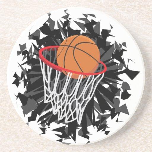 Basketball Drink Coasters