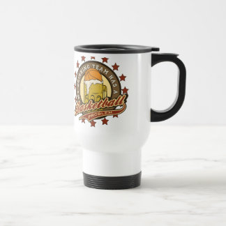Basketball Drinking Team Stainless Steel Travel Mug