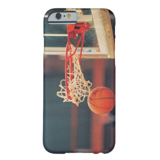 Basketball dropping through hoop barely there iPhone 6 case
