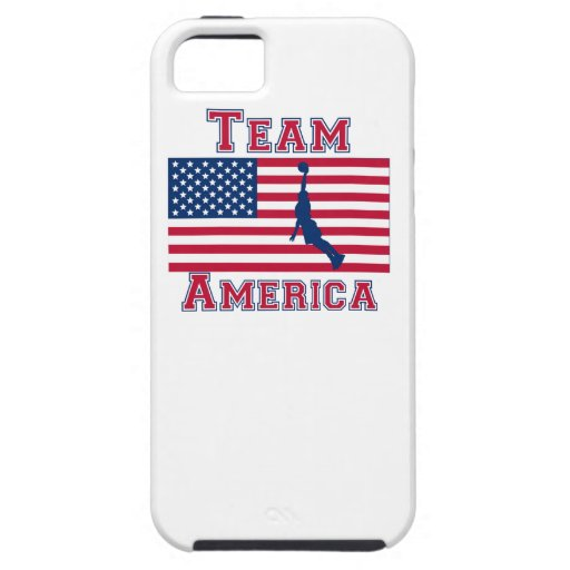 Basketball Dunk American Flag Team America iPhone 5/5S Covers