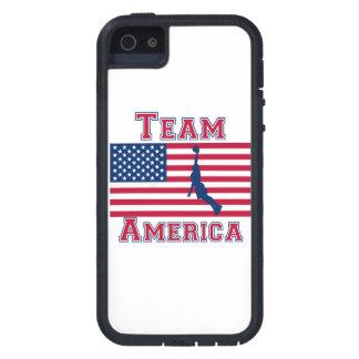 Basketball Dunk American Flag Team America iPhone 5 Case