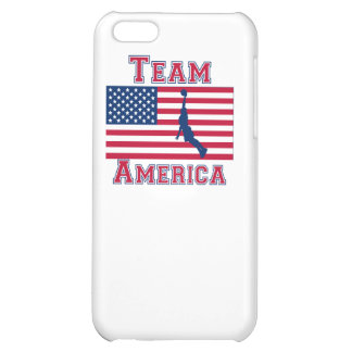 Basketball Dunk American Flag Team America iPhone 5C Cover