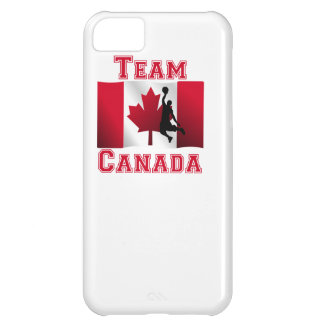 Basketball Dunk Canadian Flag Team Canada iPhone 5C Cases