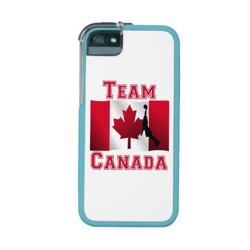 Basketball Dunk Canadian Flag Team Canada iPhone 5 Case