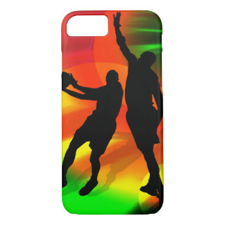 Basketball Duo Bright Court Lights iPhone 7 Case