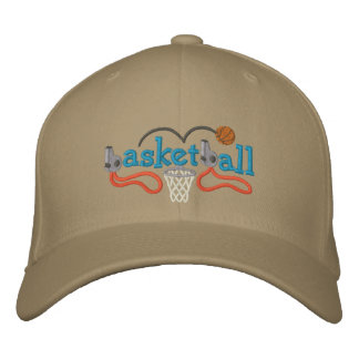 Basketball Embroidered Hats