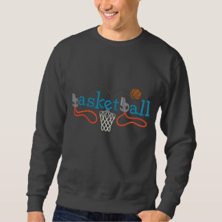 Basketball Embroidered Sweatshirt