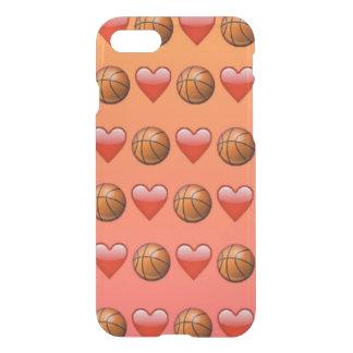 Basketball Emoji iPhone 7 Clearly™ Case