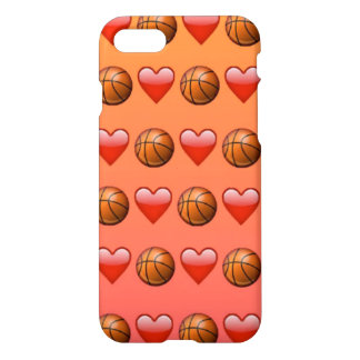 Basketball Emoji iPhone 7 Glossy Case
