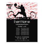 Basketball Event Promotion 21.5 Cm X 28 Cm Flyer