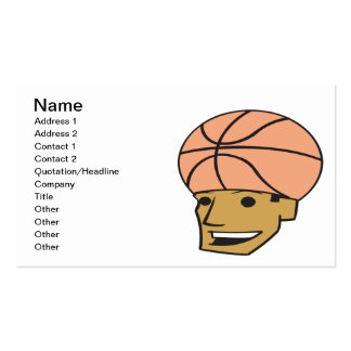 Basketball Fan Pack Of Standard Business Cards