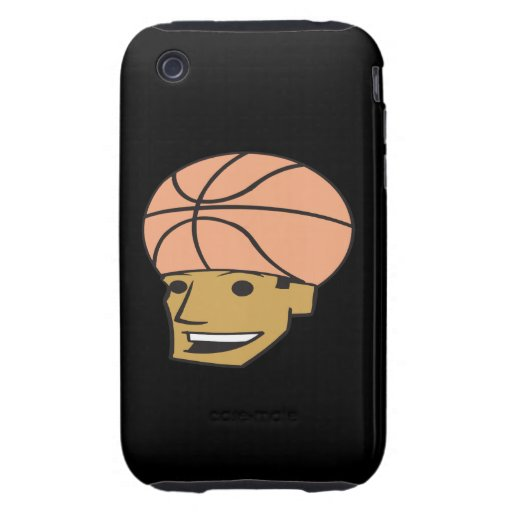 Basketball Fan Tough iPhone 3 Covers