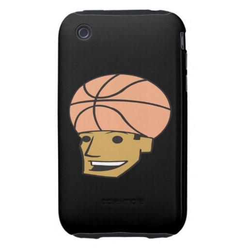 Basketball Fan Tough iPhone 3 Covers