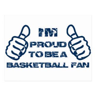 Basketball Fan design Postcard